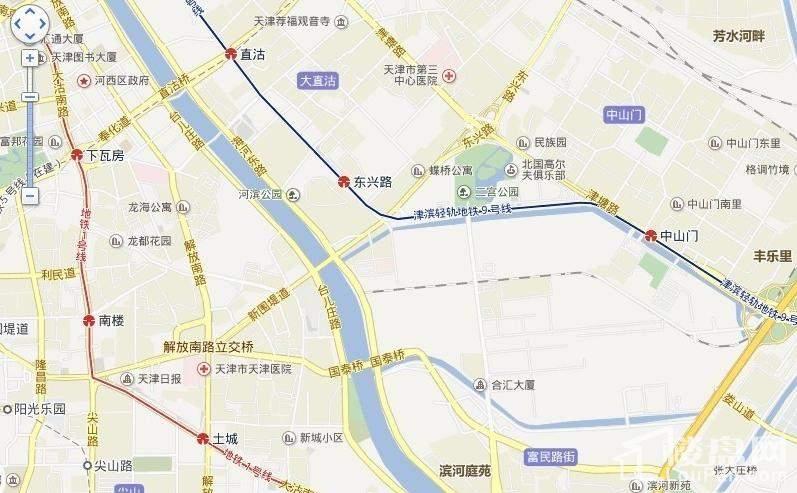 东亚风尚国际位置图