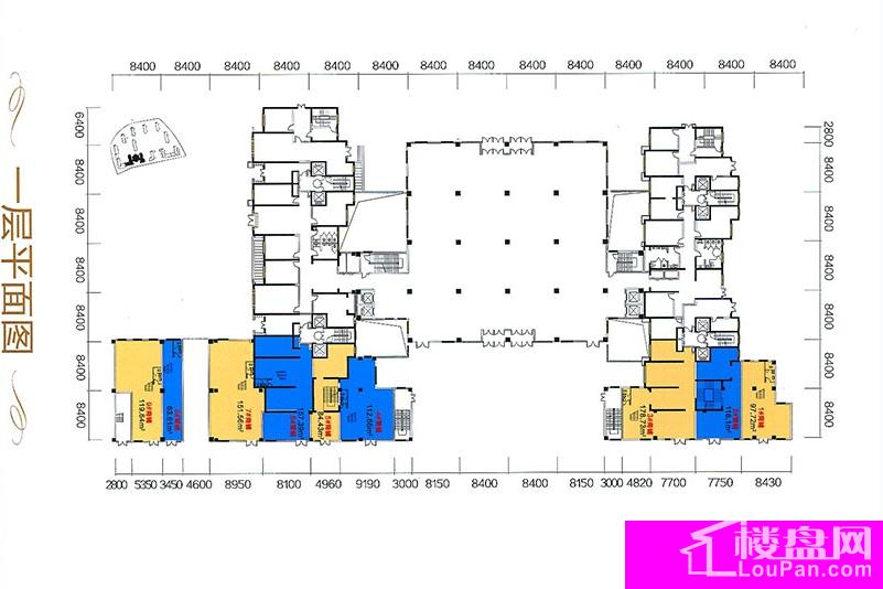 A区16号一层平面图