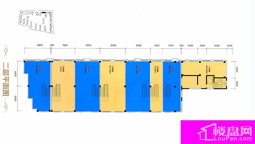 C区25号二层平面图