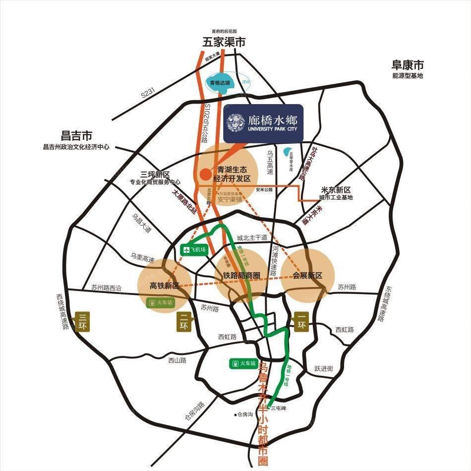 金科廊桥水乡位置图