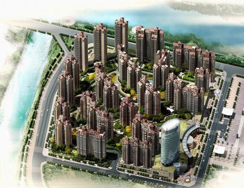 惠东中航城效果图