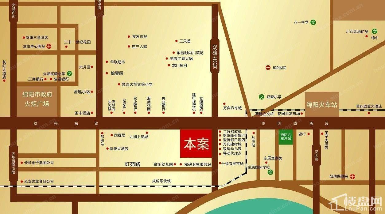 中元广场位置图