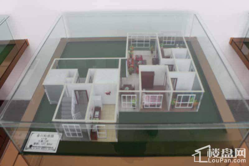 金川科技园户型模型