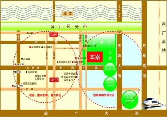 金霞•尚御尊城位置图