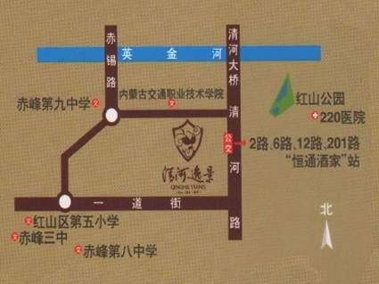 清河逸景位置图