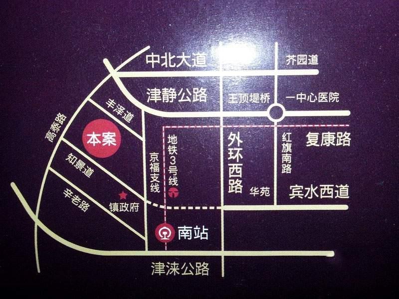 保利罗兰公馆位置图