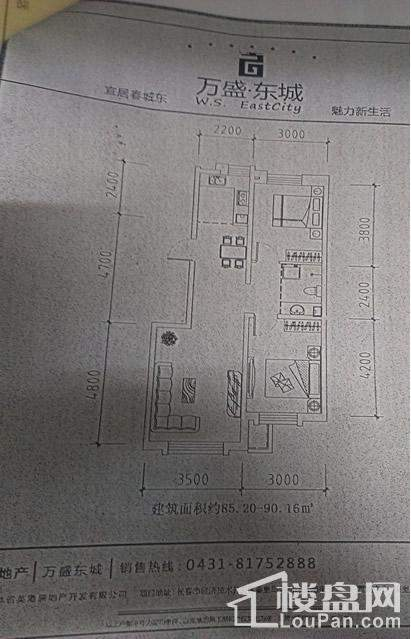 万盛东城户型图