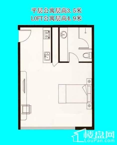 平层公寓F户型
