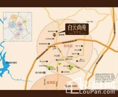 白云尚苑位置图
