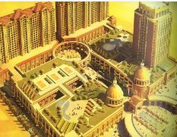 金罗马皇家国际广场效果图