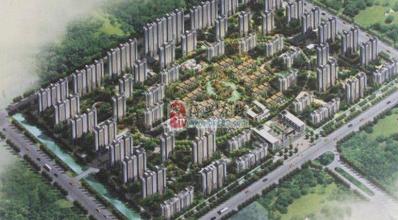 渤海锦绣城效果图