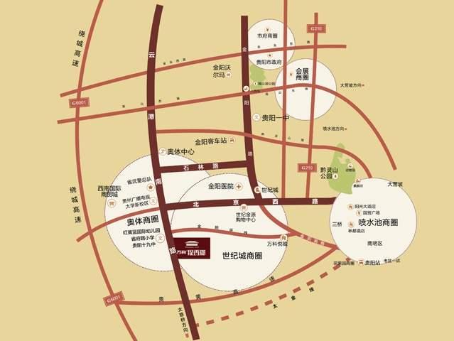 万科缇香郡位置图