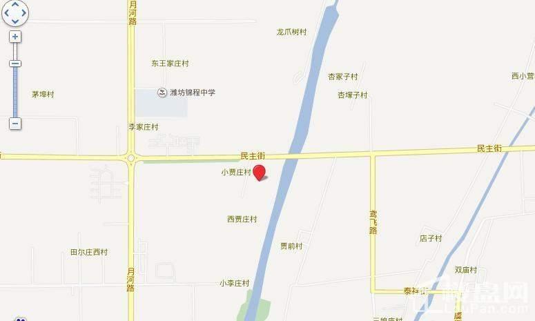 荔水湾交通图