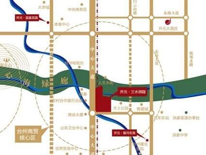 开元·三水润园位置图