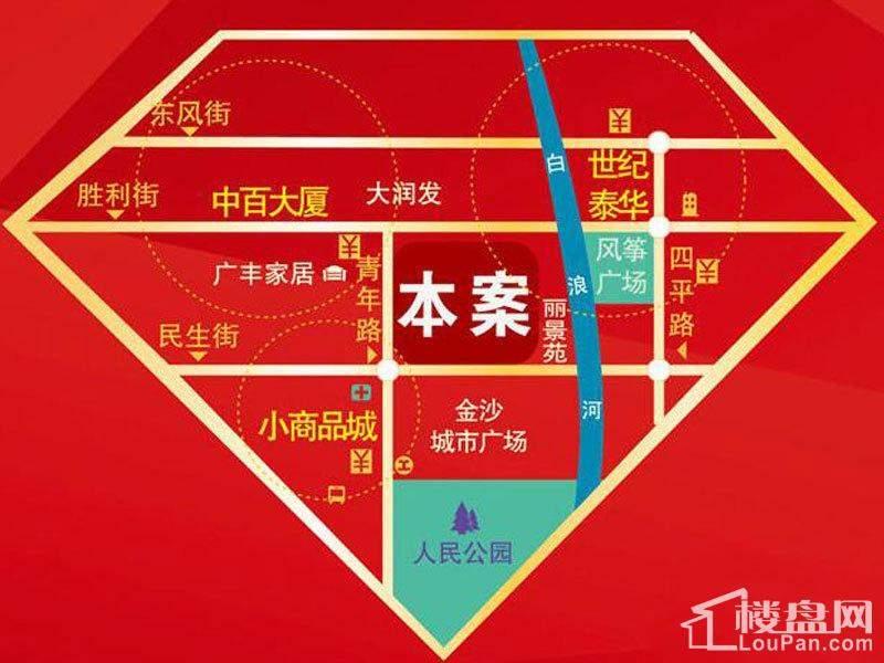 浩博香港城位置图