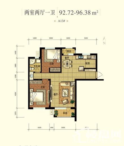 枫丹丽城户型图
