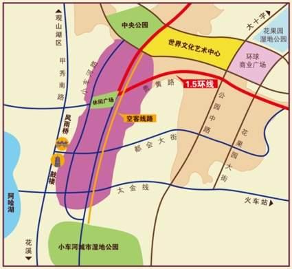 花果园位置图