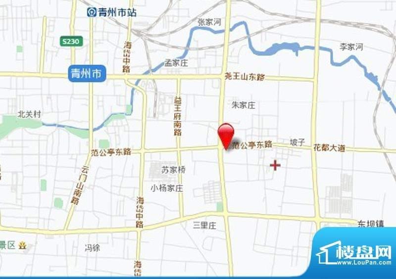 泰华城大益华府位置图