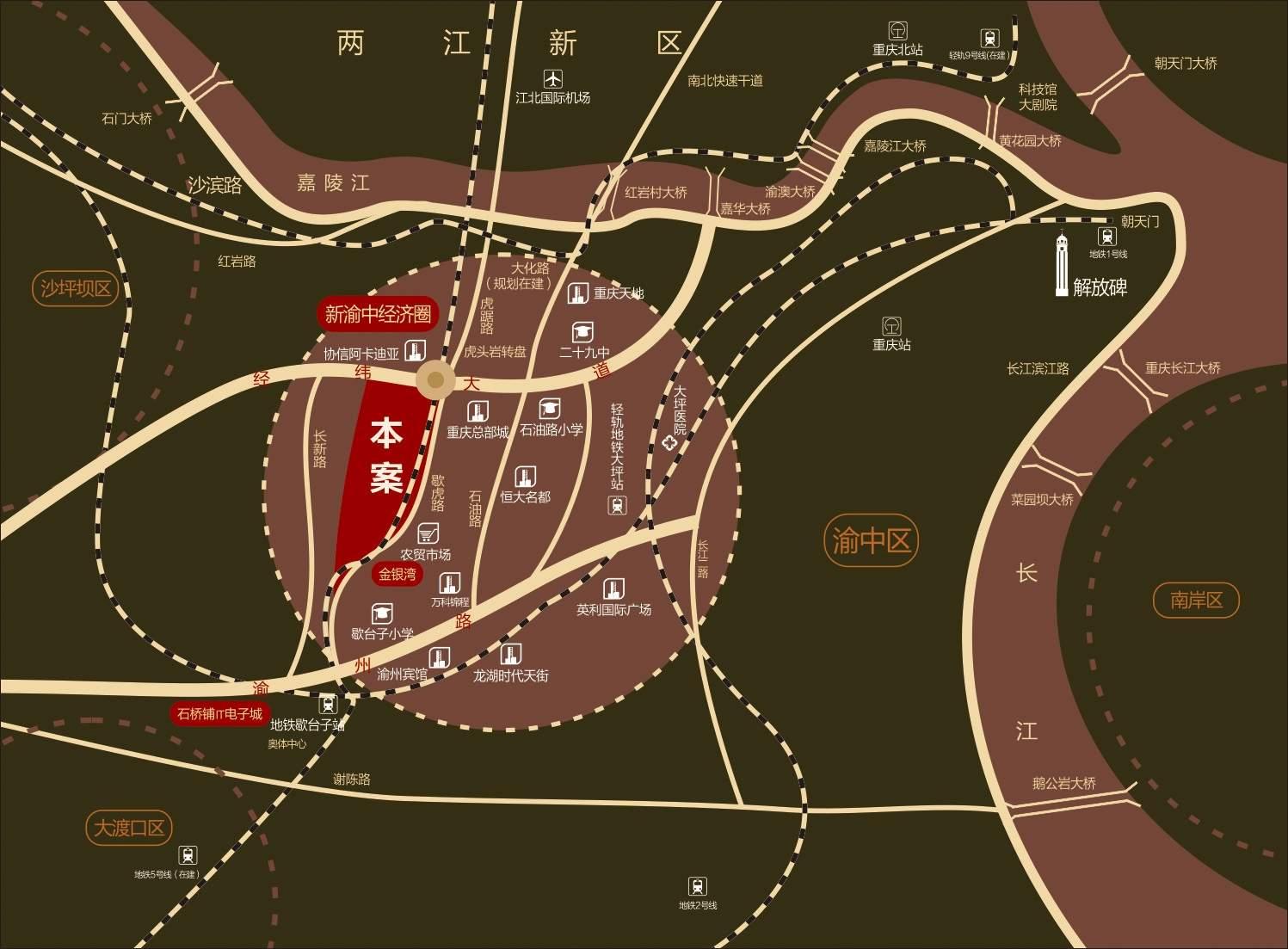 升伟中环广场位置图