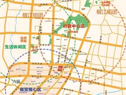 台州经开万达广场位置图