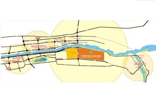 中国供销抚顺东北商贸城位置图
