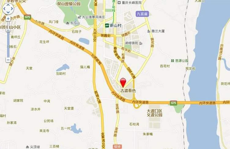 蓝谷小镇位置图