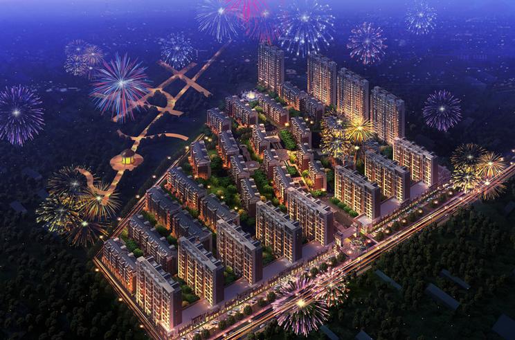 泊林小镇图片