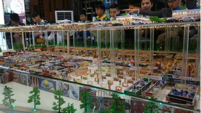 佛山艺展中心 时代倾城效果图