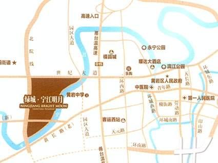 宁江明月位置图