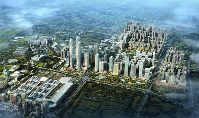 贵州金融城效果图
