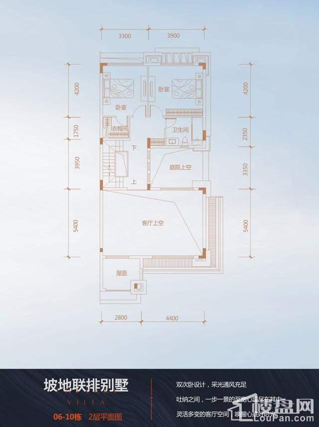 四联排端户(2) 户型图