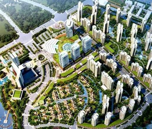 锦江国际新城效果图