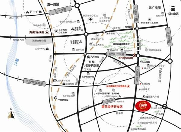 南庭城果位置图