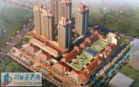 金昌.浙江商贸城效果图