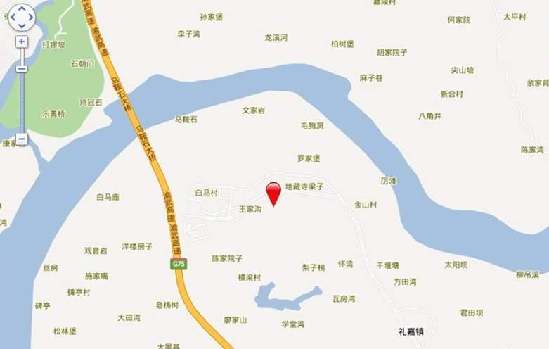龙湖两江新宸位置图