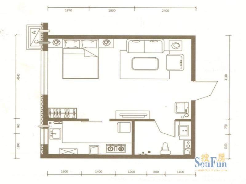 公寓G户型