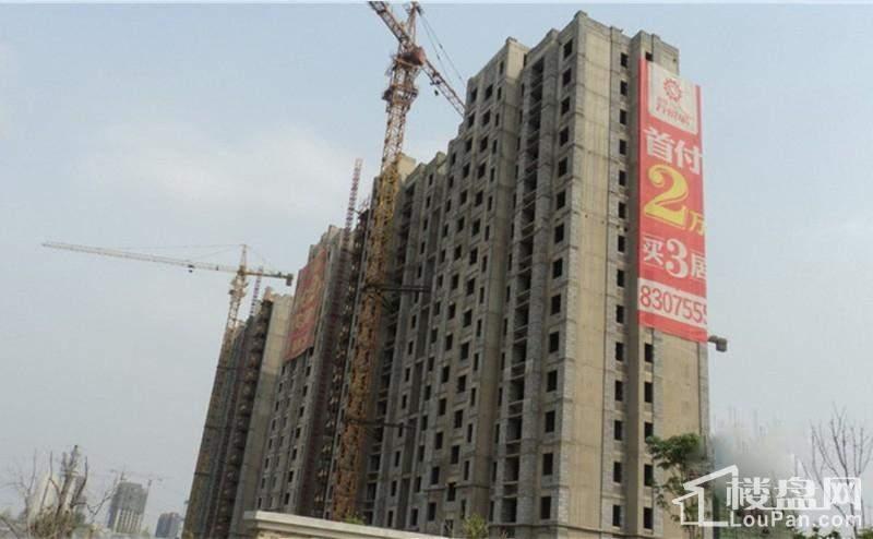 和扬万悦城高层进度实景图(2014-5-8)