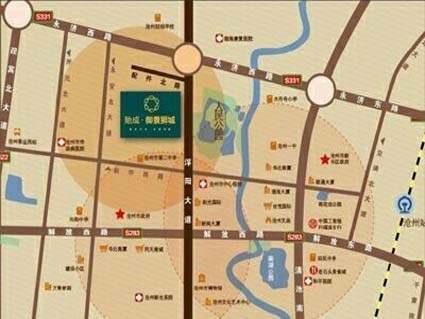 贻成御景狮城位置图