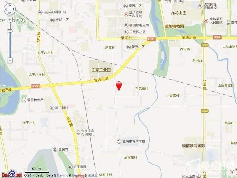 双裕世纪城位置图