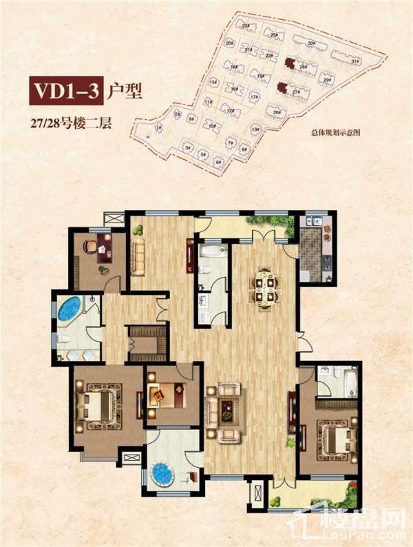 27#28#二层 VD1-3户型