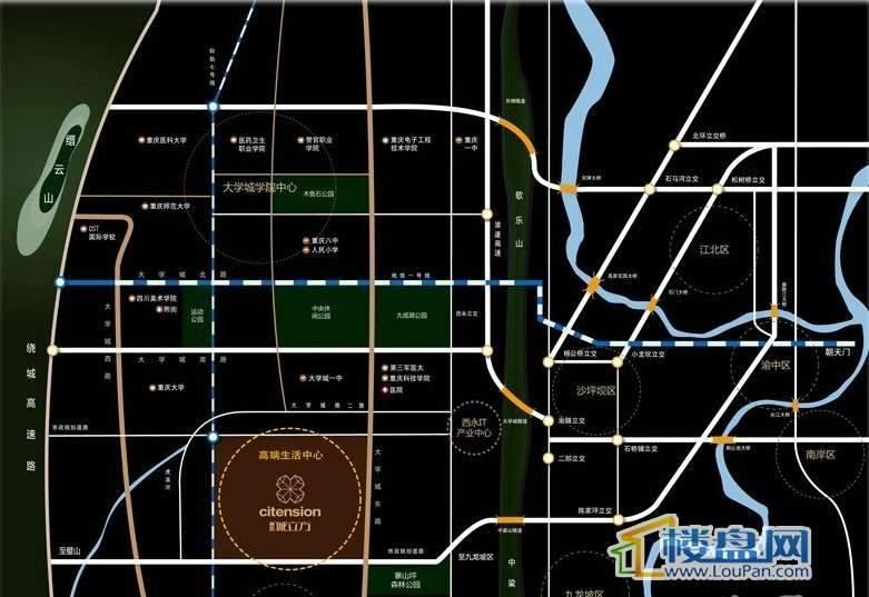 协信城立方位置图
