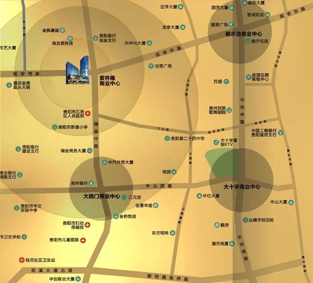 世纪汇金广场位置图