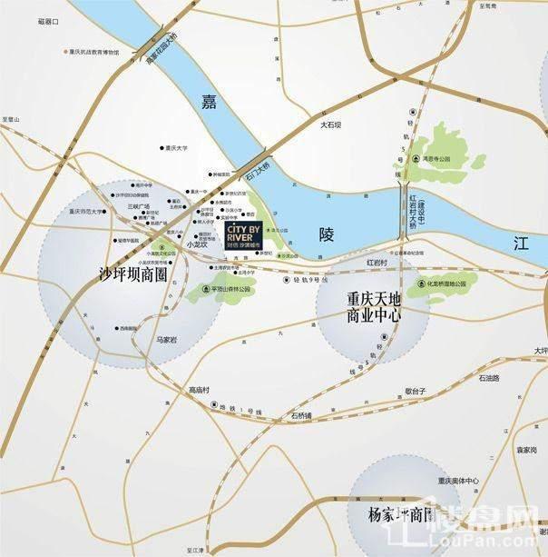 重庆沙滨路地图