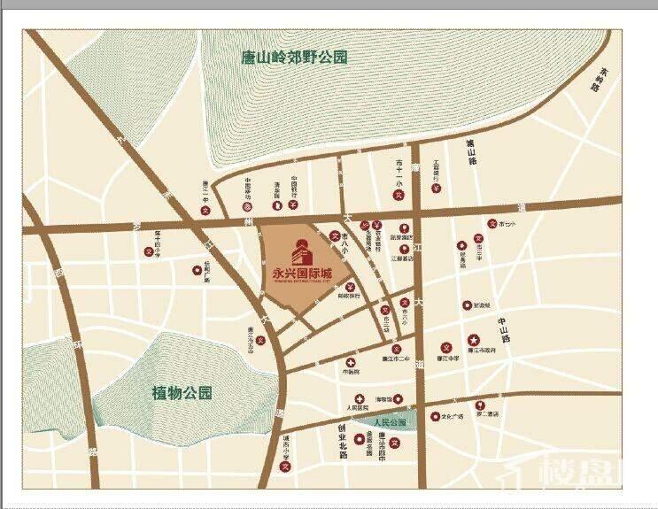 永兴国际城位置图