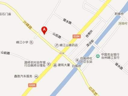 枫尚华庭位置图