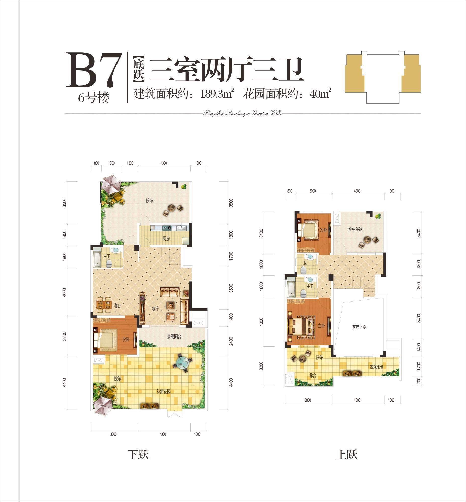6号楼B7户型