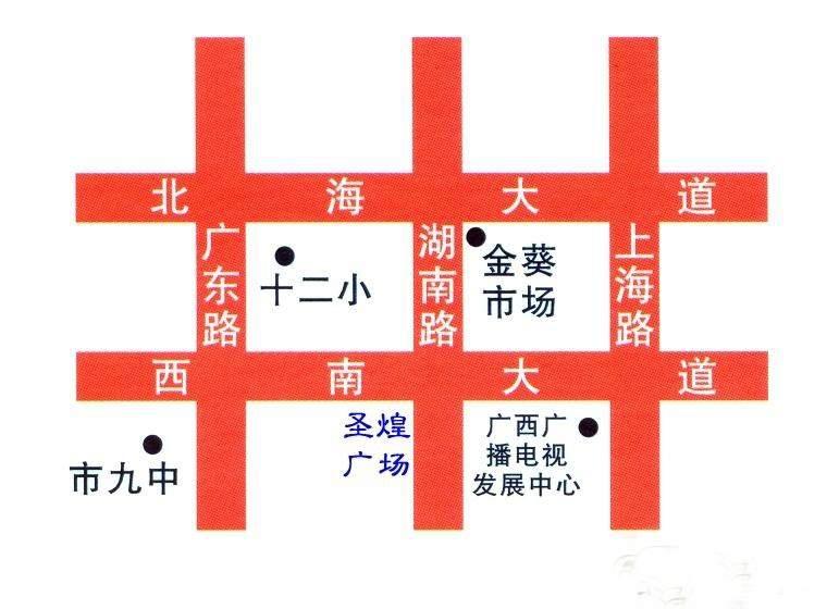 圣煌广场位置图