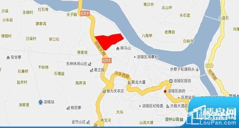 泽胜温泉城位置图