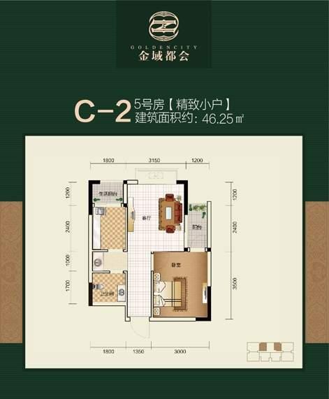 5号楼C-2户型