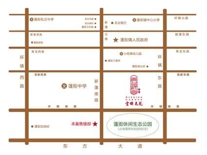云锦花苑位置图